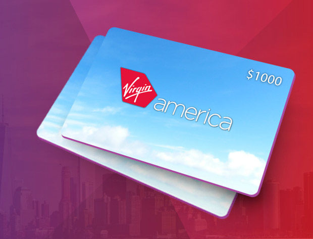 Enter to Win The Virgin America $1000 Giveaway