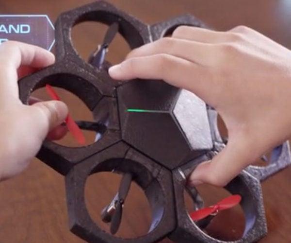 Airblock Programmable Modular Drone: Flying Bots Assemble!