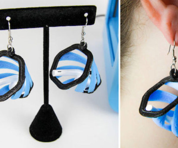 These 3D-printed Earrings Will Catch Your Airpods