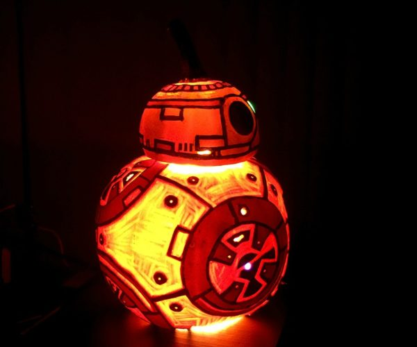 BB-8 Jack-O'-Lantern: Happy Rolloween
