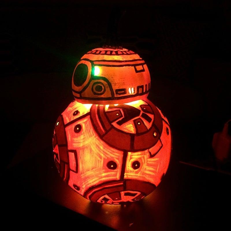 BB-8 Jack-O'-Lantern: Happy Rolloween - Technabob