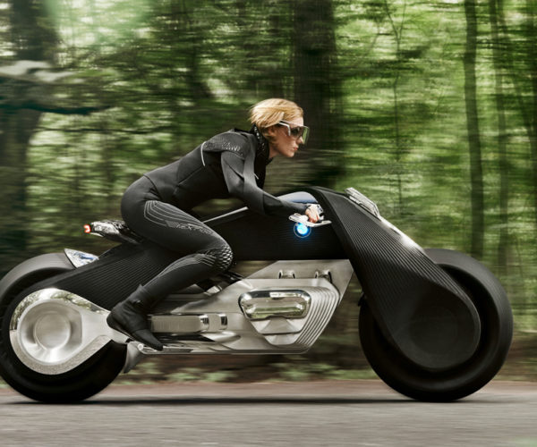 BMW's Future Motorcycle: No Helmet Required