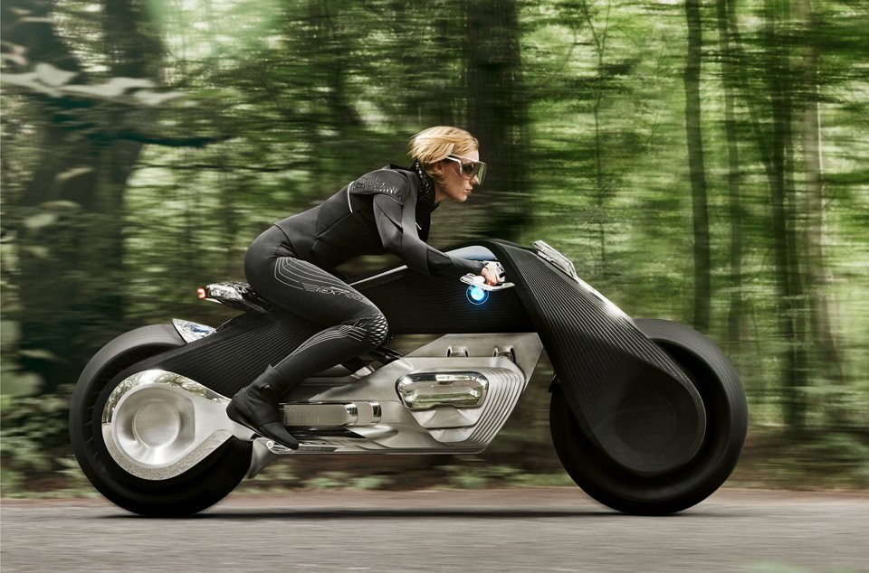 bmw 39 s future motorcycle no helmet required. Black Bedroom Furniture Sets. Home Design Ideas
