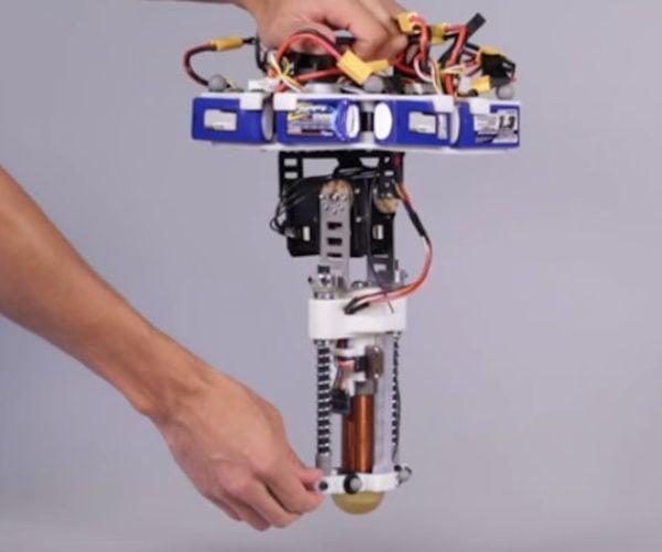 Disney Invents a One-legged Robot That Hops Like a Crazy Pogo Stick