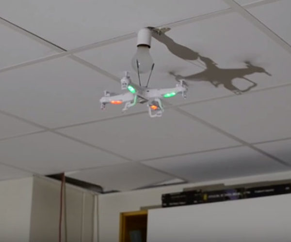 How Many Drones Does It Take to Change a Light Bulb?