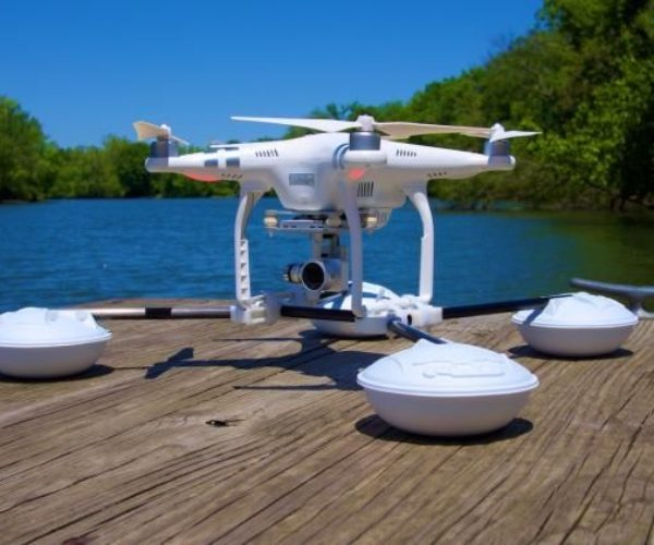 DroneRafts Waterstrider Lets You Land Your Drone on Water