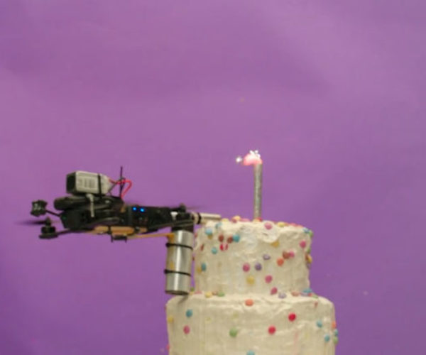 Watch These Drones Make a Cake
