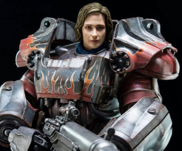 Epic Fallout 4 Action Figure Has Flamed-out T-60 Armor
