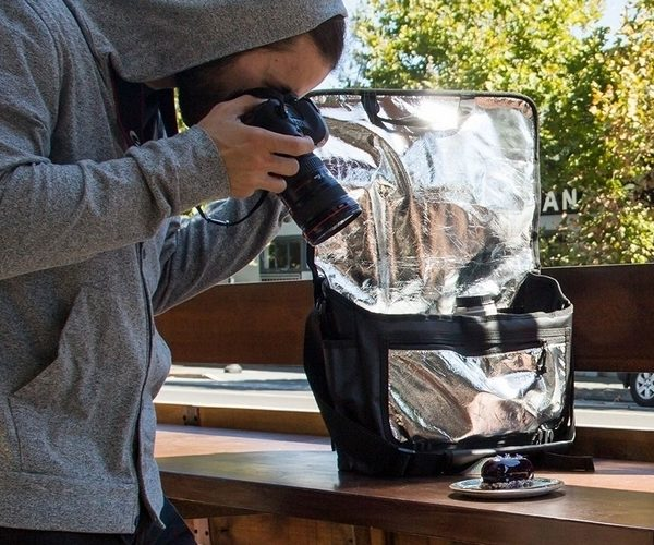 Reflective Camera Bag Improves Photography on the Go