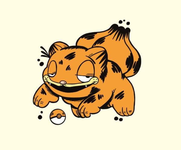 Pokémon + Garfield = Garfémon