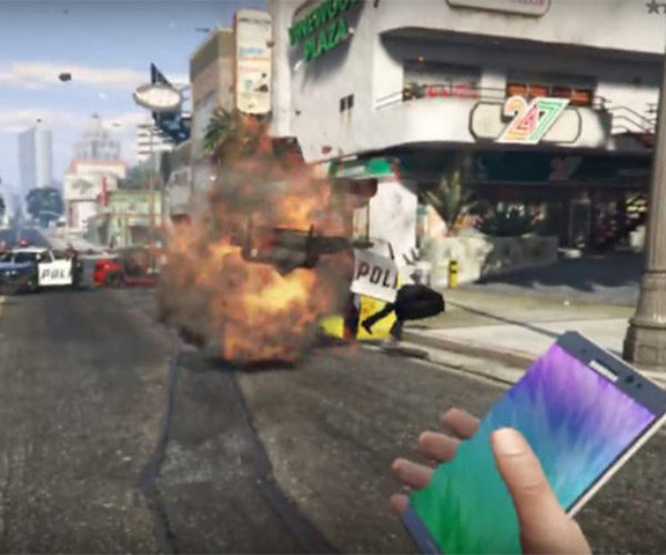Samsung Tries to Squash GTA V Note 7 Sticky Bomb Videos on YouTube