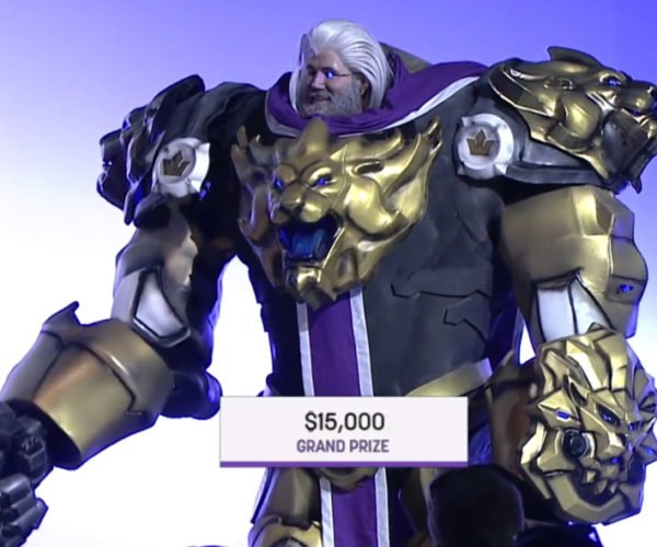 Epic Reinhardt Overwatch Cosplay Wins $15k at TwitchCon