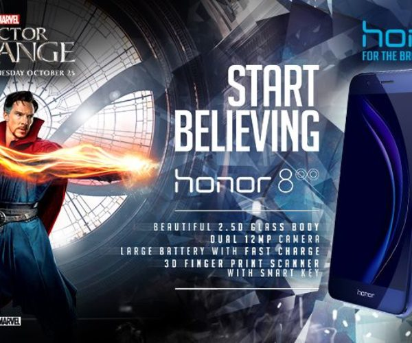 Doctor Strange Gets Limited-edition Honor 8 Smartphones