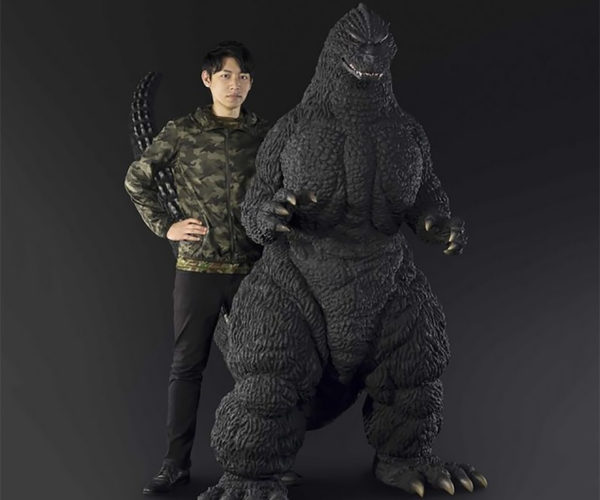 Human-size Godzilla Statue Won't Crush the City