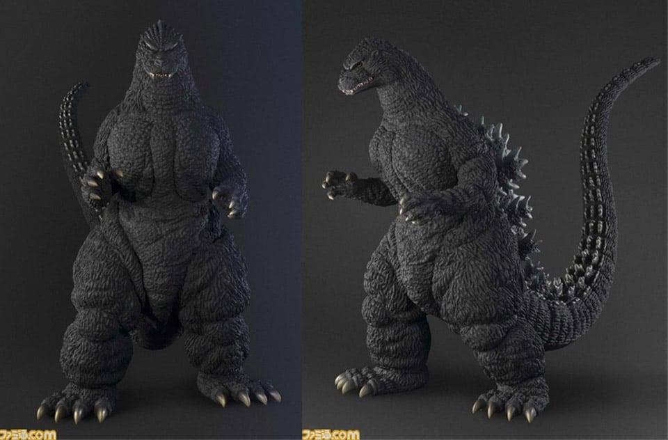 Human Size Godzilla Statue Won T Crush The City Technabob