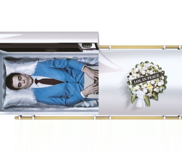 Internet Ready Coffin: LOL In Peace