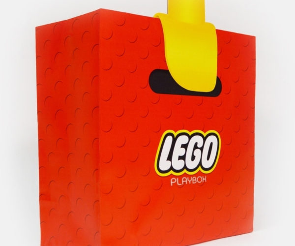 This LEGO Shopping Bag Makes Your Hands Look Like Minifig Hands