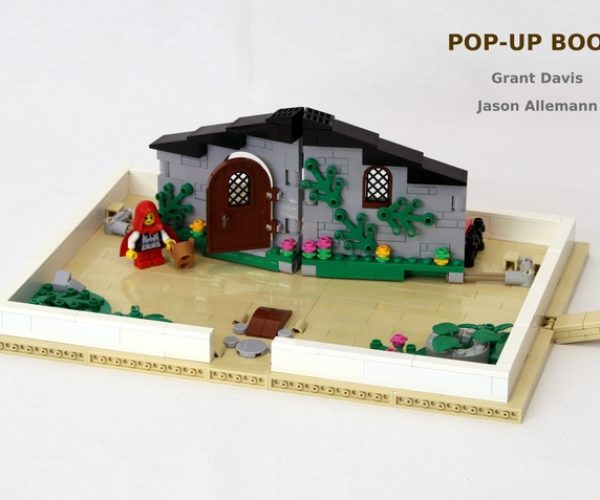 Brick Tales: A LEGO Pop-Up Book