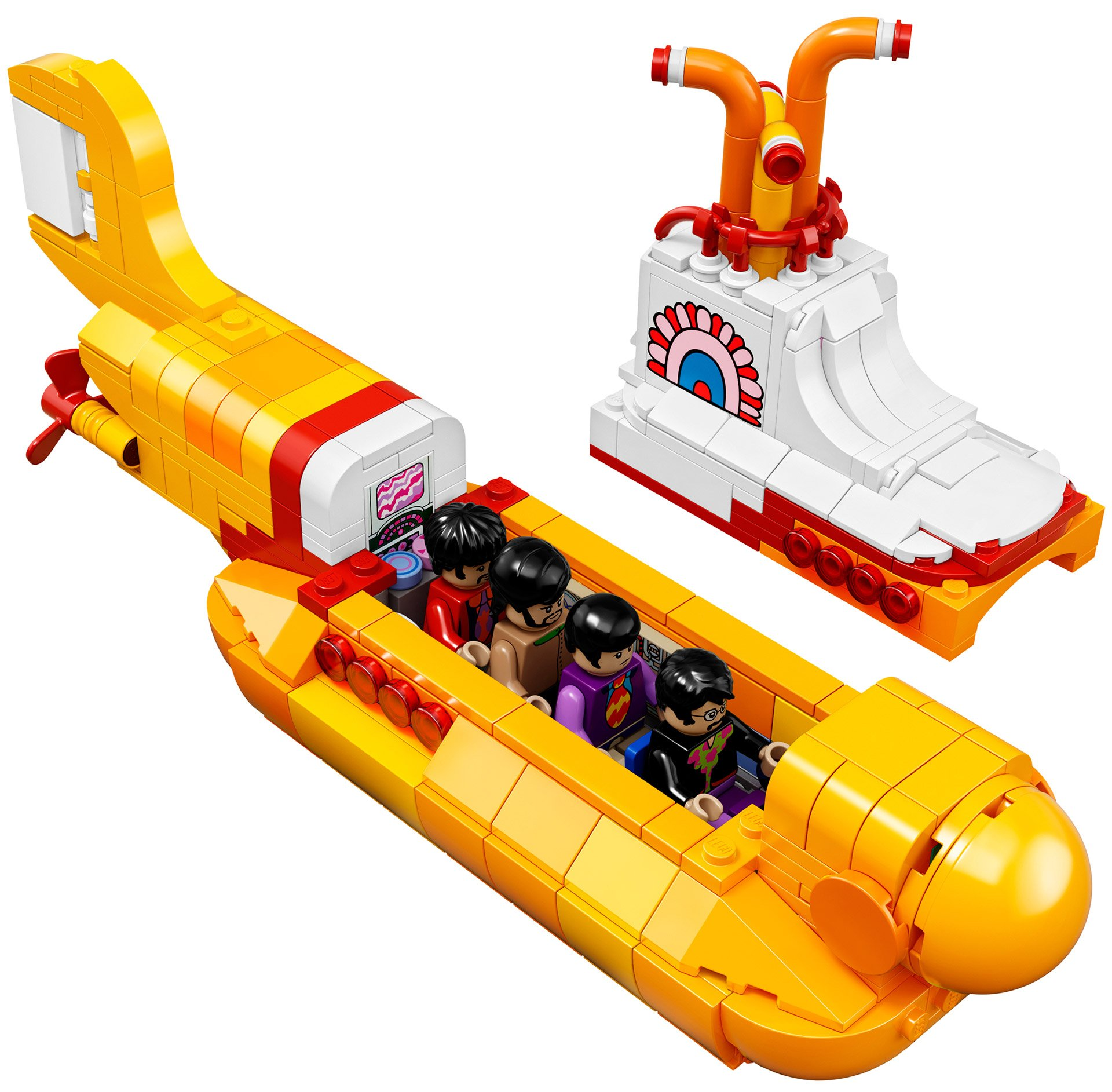 We All Live In A Lego Submarine Technabob