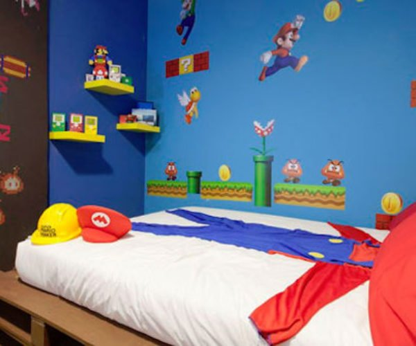 Super Mario Airbnb Room: The Real Mushroom Kingdom