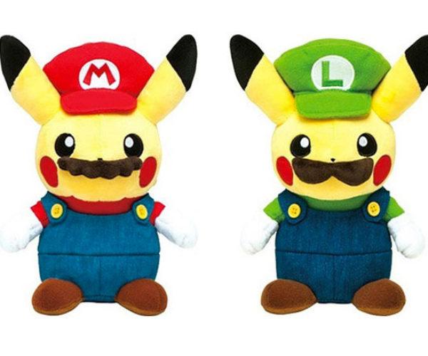 Pikachu and Mario Mashups: Mariochu? Pikario?
