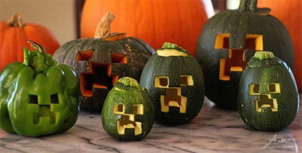 minecraft_creeper_pumpkins_2