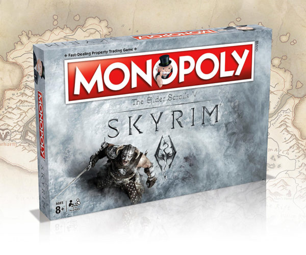 Skyrim Monopoly: Fus Ro Dah Directly to Jail. Do Not Pass Go.