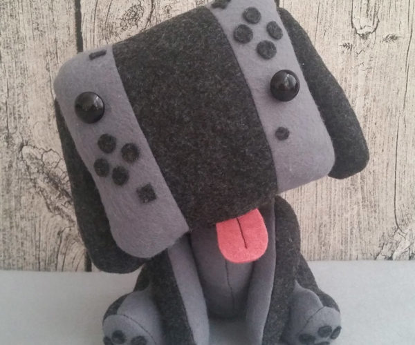 Nintendo Switch Puppy Plush: Canine Console