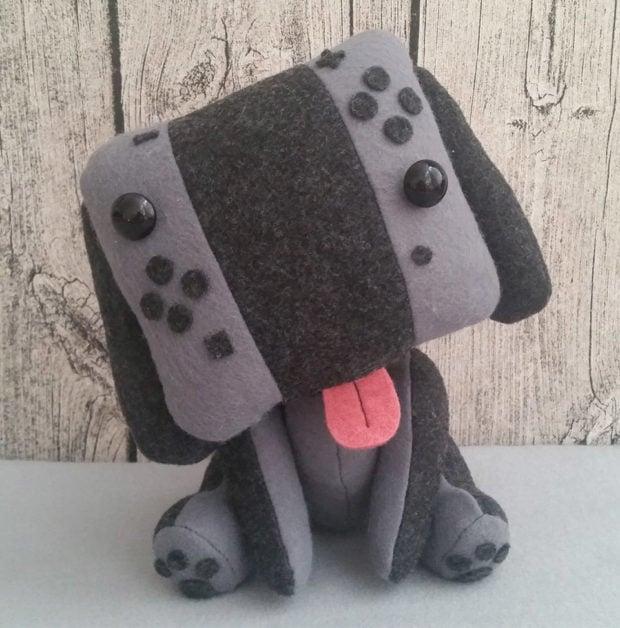 Nintendo Switch Puppy Plush Canine Console