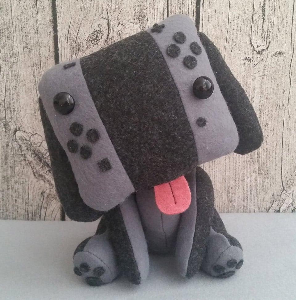 Nintendo Switch Puppy Plush Canine Console Technabob