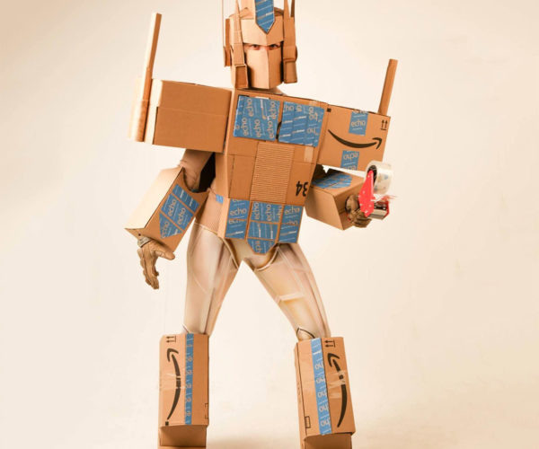Optimus Amazon Prime Costume: Shipments in Disguise