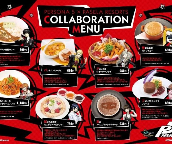 Persona 5 Food and Drinks Hit Los Cabos Cafe in Shibuya, Japan