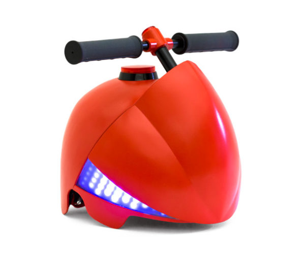 The Piggyback Driver Helmet Turns Parents into Vehicles