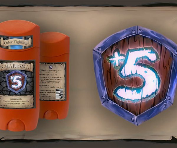 +5 Gamer Deodorant: Strong Enough for an Ogre, but Made for a Paladin