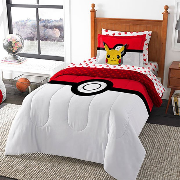 Pokemon Bed In A Bag Virginity I Choose You Technabob