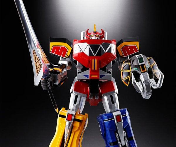 Power Rangers GX-72 Daizyujin Megazord Figures Assemble Into One Big Robot