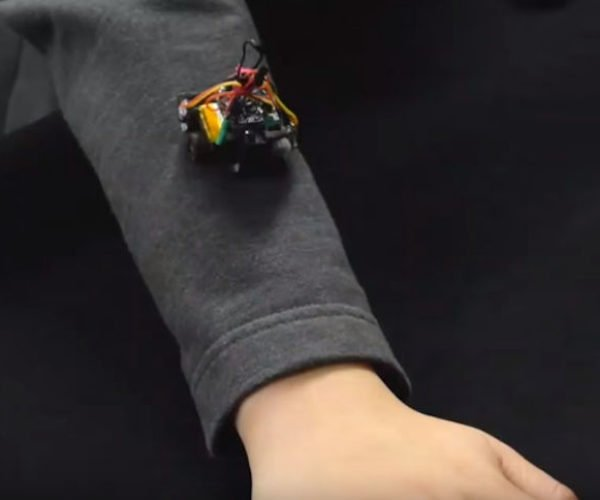 Roveable Robots Crawl All Over Your Clothes