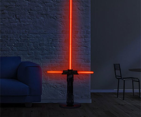 These Lightsaber Lamps Illuminate The Dark Side of the Floors