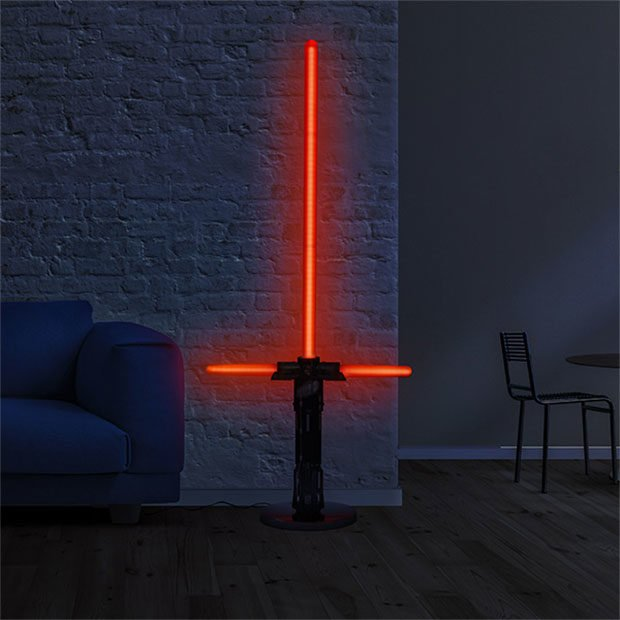 These Lightsaber Lamps Illuminate The Dark Side Of The Floors Technabob