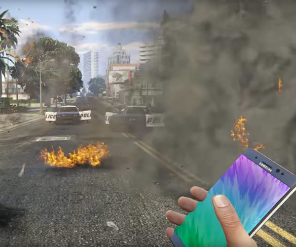 YouTube Unblocks GTA V Note 7 Sticky Bomb Videos