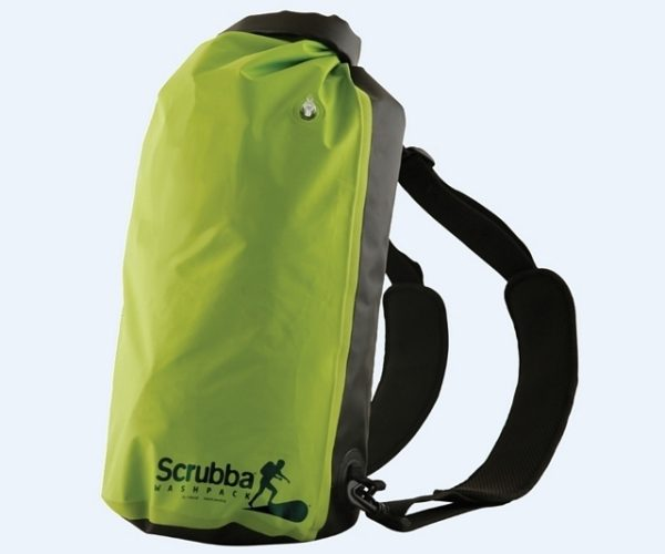 Scrubba Wash Pack Is a Backpack That Doubles as a Washing Machine