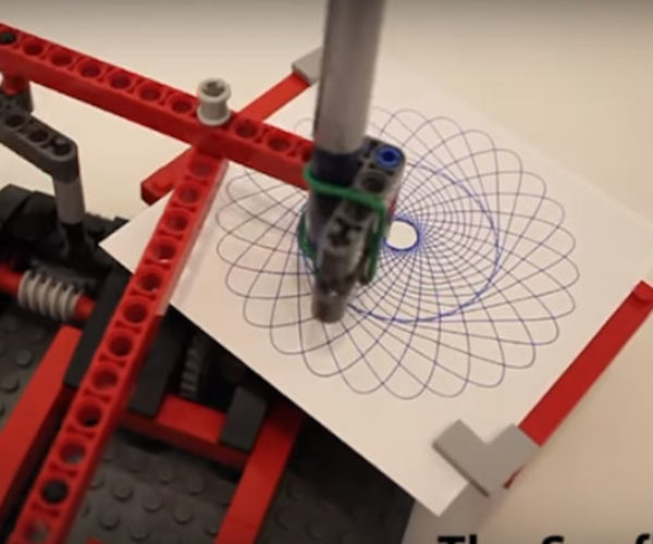 Create Your Own LEGO Spirograph Machine