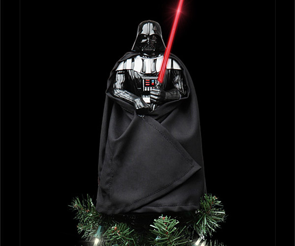 Darth Vader Tree Topper Finds Your Lack of Presents Disturbing