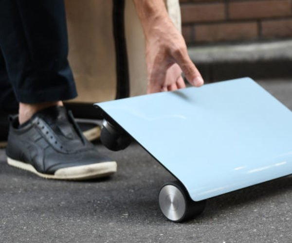 You Can Soon Buy the WalkCar, a Scooter That Looks Like a Laptop