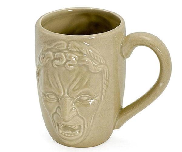 Weeping Angel Relief Mug: Coffee with Sugar and Creep