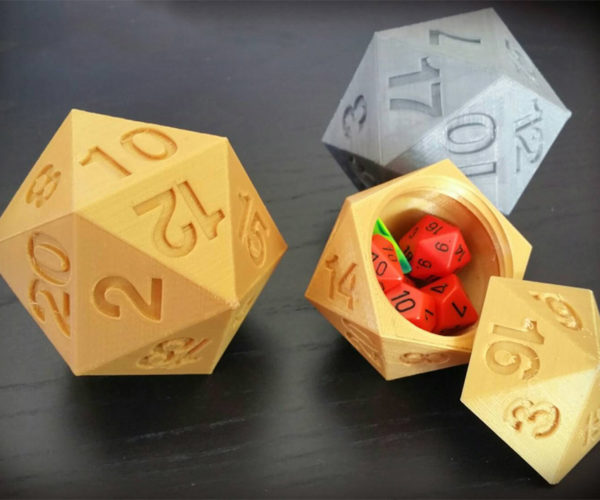 D20 Storage Box Ups Your Storage Ability +10
