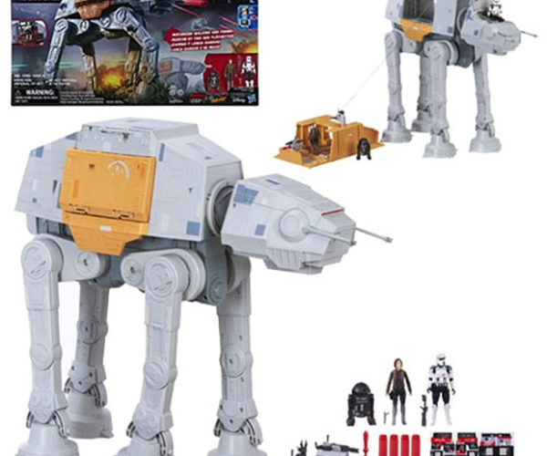 Hasbro Rogue One AT-ACT Toy Walks and Shoots!