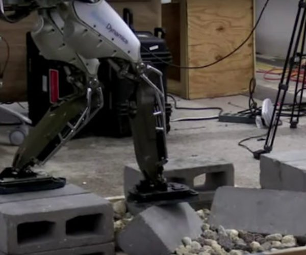 Atlas Humanoid Robot Can Now Walk over Tricky Terrain