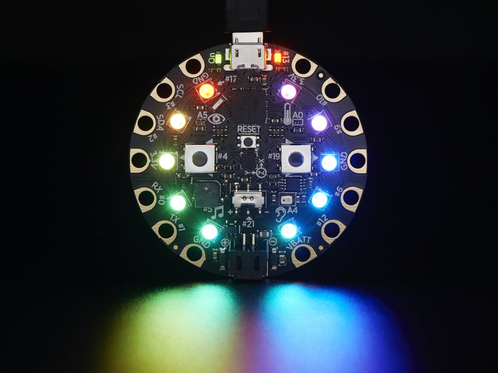 Circuit Playground Adds Light and Sound to Your Toys or Props