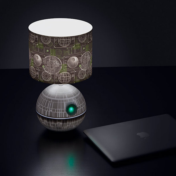 death star desk lamp is the ultimate power in your cubicle. Black Bedroom Furniture Sets. Home Design Ideas